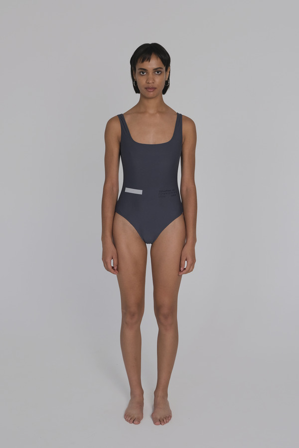 Simple Onepiece Swimsuit