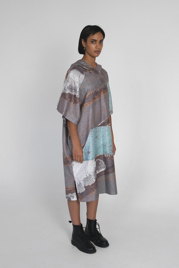 Butterfly Poncho Microfiber