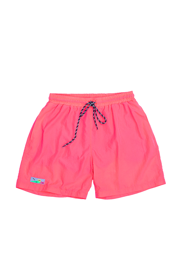 Neon flame Swim Shorts